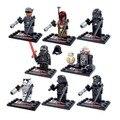 [Bainily 1007A] 8 unids/set starwars Star Wars The Force Despierta Serie Bloques de Construcción Para Niños Juguetes Compatible Con Legoe amigo