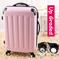 "28"" pink 8-universal wheels large capacity trolley luggage bags,female lovely fruit color travel luggage suitcases,gifts for"