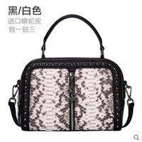 Yuanyu змеиная кожа женская сумка из натуральной кожи питона на одно плечо сумка змеиная кожа маленькая квадратная сумка с большой емкостью на