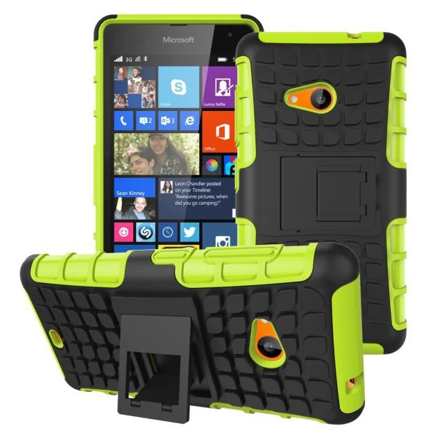 buy online 46eaa 28f0e US $5.5 |Armor Hard Case For Microsoft Lumia 535 Hybrid Stand Cover For  Nokia Lumia 535 Windows Mobile Phone Bags Shockproof on Aliexpress.com | ...
