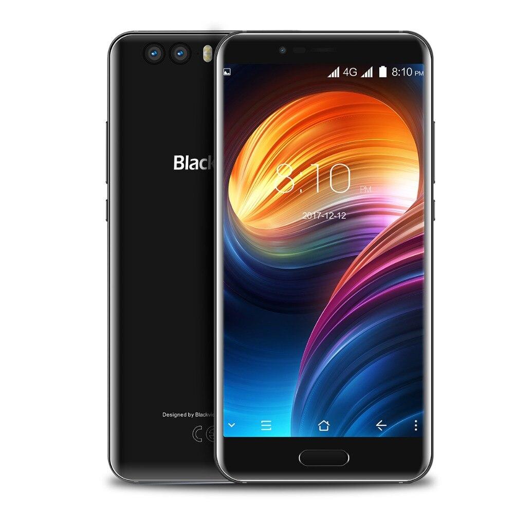 """Blackview P6000 5.5 """"4G double SIM mince Smartphone téléphone Mobile 6GB + 64GB Helio P25 Face ID 21.0MP caméra 6180mAh batterie d'origine"""