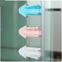Baby Safety Lock for Sliding Door Window Children Protection Lock Drawer Cabinet Door Wardrobe Anti-pinch Wings Kids Safety Lock(China)