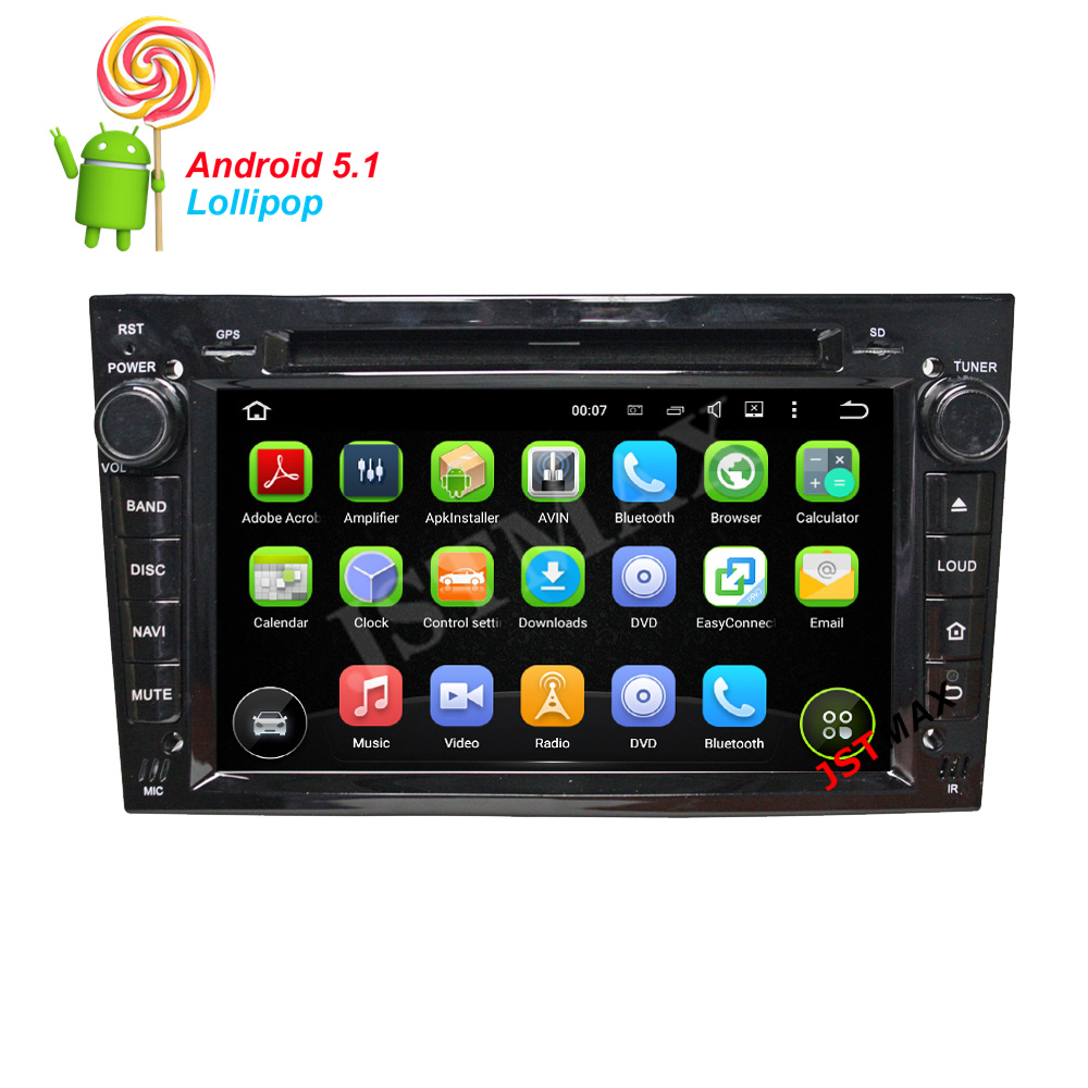 new quad core android 5 1 car dvd player for opel astra h. Black Bedroom Furniture Sets. Home Design Ideas