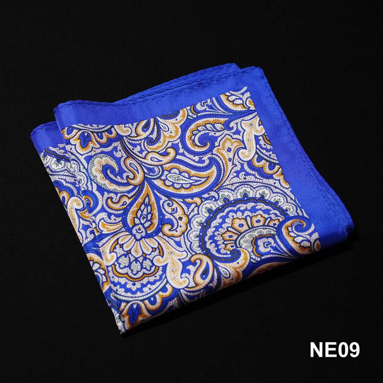 NE09 HN08B1 Blue Yellow Paisley