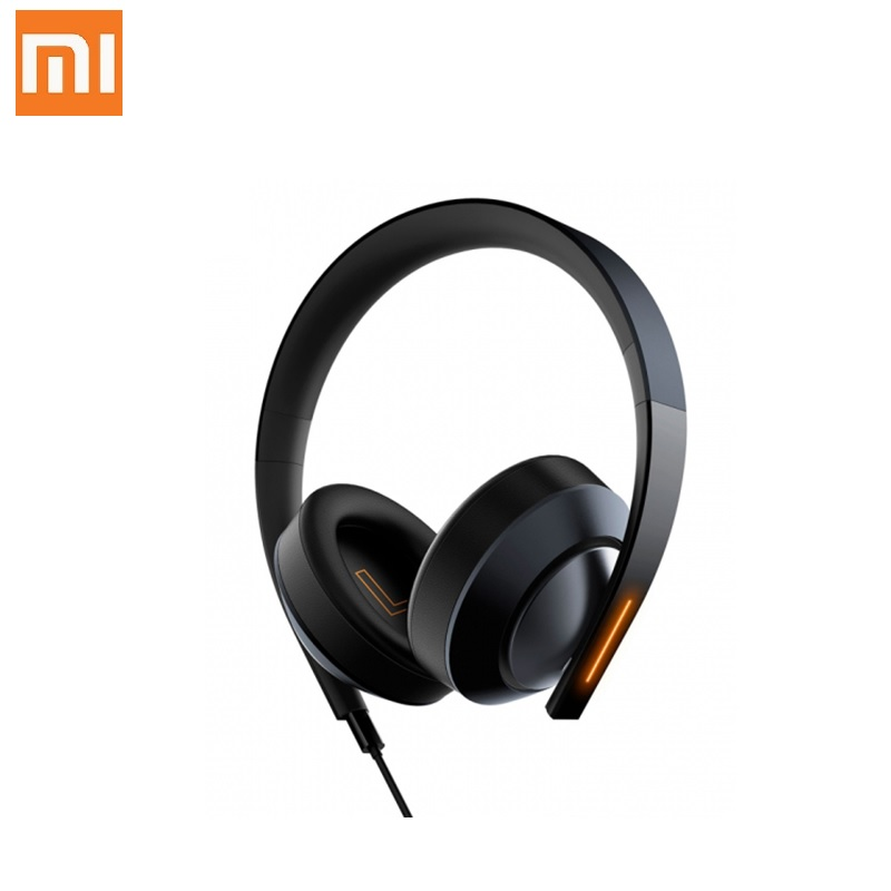 Original Xiaomi MI Gaming Headset 7.1 Virtual Surround Headphones with Microphone Noise Cancelling for PC PS4 Laptop Phone mi headphones comfort white