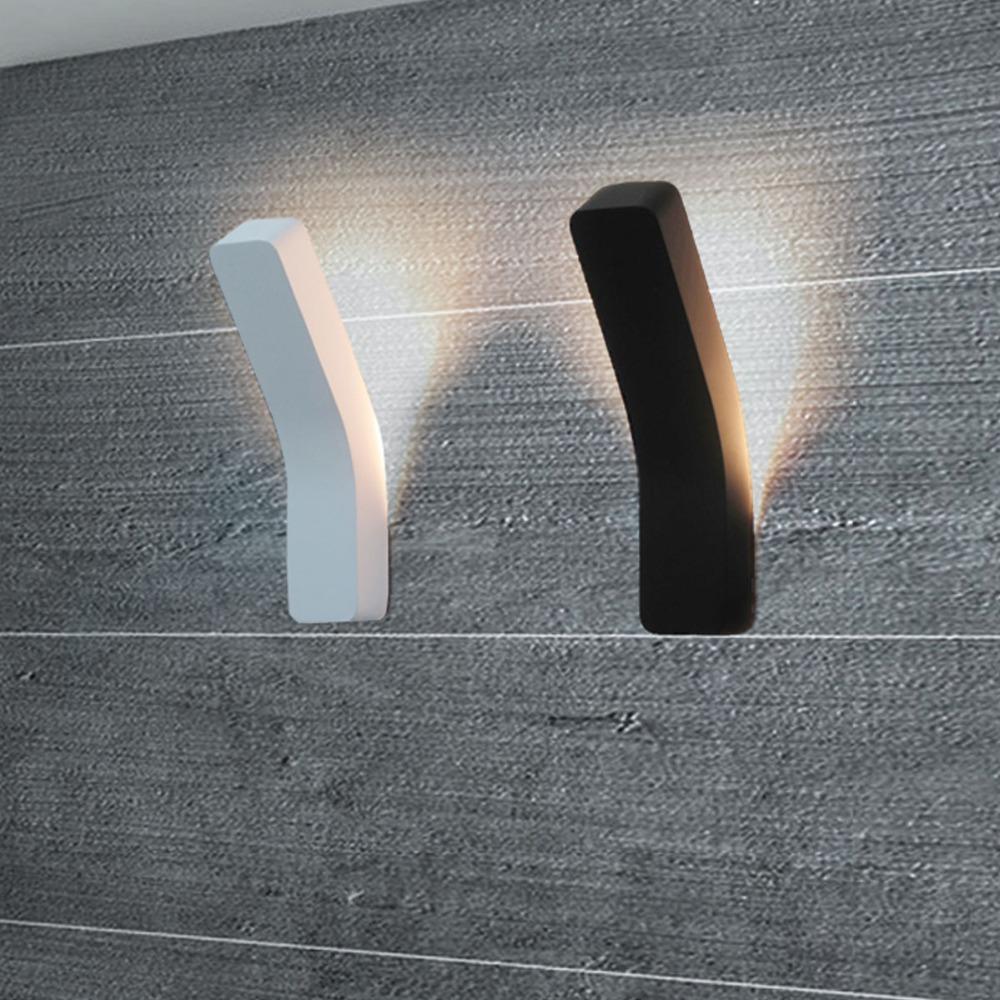 unid elegante luz led lmpara de pared e lmpara de interior uplighter pasillo casa moderna