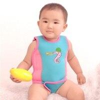 Baby Boys Swimsuit Bathing Romper Pattern Short Sleeved Beach One Piece Float Swimwear for Kids Child Girl Boy Swimming Suit
