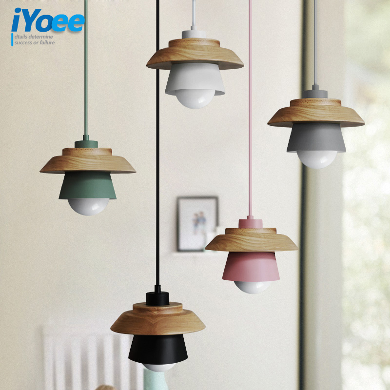 Macaron fashion Wood+rion bar Cafe Restaurant pendant lamp study office aisle corridor living room dining room Chandelier light retro vintage rope pendant lamp bar pub dining room aisle corridor warehouse club restaurant cafe chandelier loft light fixture