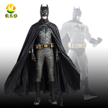 Hot Movie Justice League Superhero Batman Cosplay Costume Full Set for Man Halloween Party Accessories boho style pattern tapestry