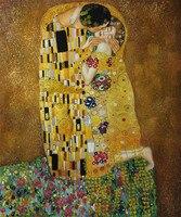 装飾キャンバス絵画抽象壁の芸術をキスグスタフ·クリムトの油絵再現家の装飾博物館品質