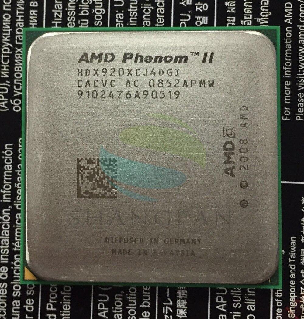 AMD Phenom X4 920 2.8GHz Quad-Core CPU Processor HDX920XCJ4DGI 125W Socket AM2+/940PIN