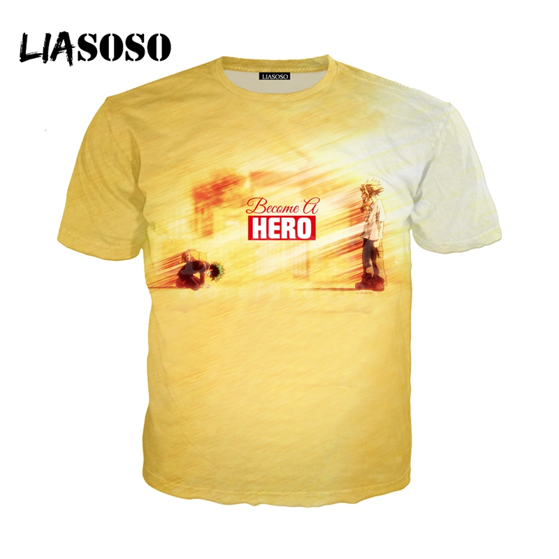 LIASOSO NEW Anime Boku No Hero My Hero Academia Cosplay Tees 3D Print t shirt/Hoodie/Sweatshirt Unisex Good Quality Tops G1384