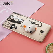 3D Silicone Squishy Cat TPU Protection Case for Samsung Galaxy J7 Prime – Cat