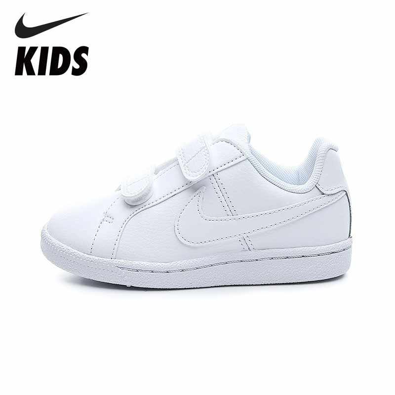 6a61018b1 Detail Feedback Questions about NIKE COURT ROYALE (PSV) Breathable Sports  Shoes Comfortable Sneakers For Little Kids 833536 102 on Aliexpress.com