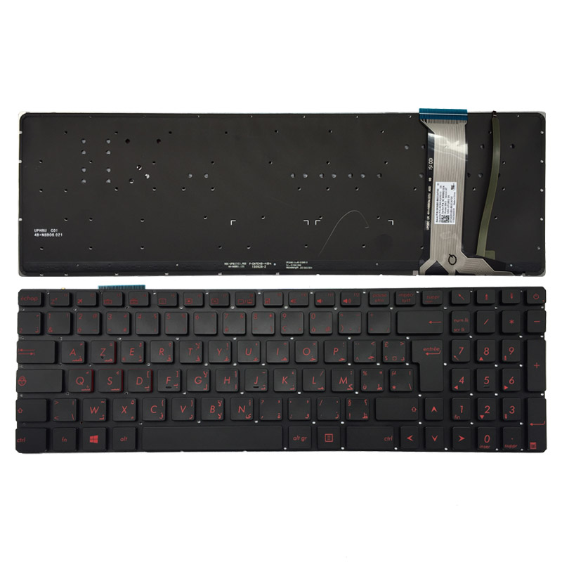 все цены на Arabic/Arabic French backlit laptop keyboard for ASUS N551 N551J N551JB N551JK N551JM N551JQ G551 G551J G551JK G551JM G551JW онлайн