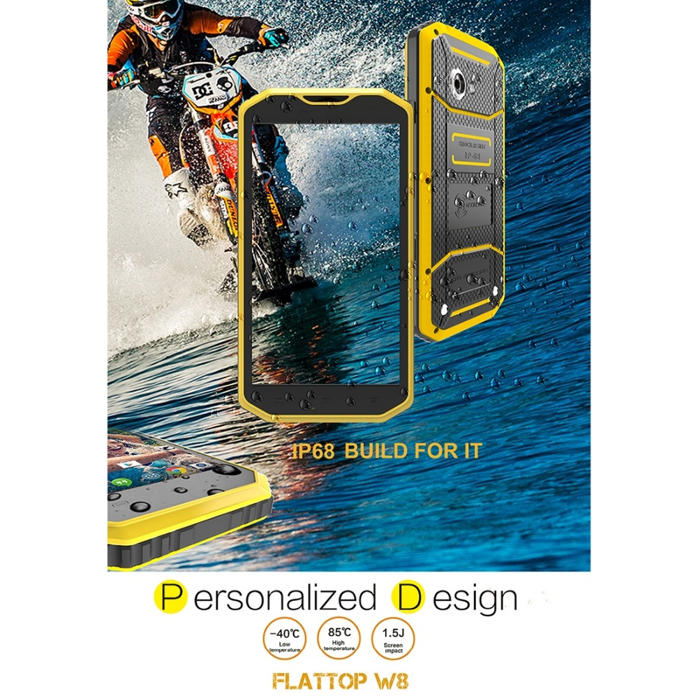 KEN XIN DA Proofing W5 4 0 inch Andriod 5 1 MTK6735 Quad Core IP68 Waterproof