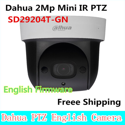 Dahua SD29204T-GN replace SD29204S-GN 2Mp Network Mini IR PTZ Dome IP Speed Dome 4x optical zoom English Firmware Freee Shipping original english firmware dahua dh sd29204t gn replace sd29204s gn 2mp network mini ir ptz dome ip speed dome 4x optical zoom