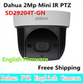 Dahua SD29204T-GN substituir SD29204S-GN 2Mp Rede Mini Dome PTZ IR IP Speed Dome zoom óptico de 4x Inglês Firmware Freee Envio