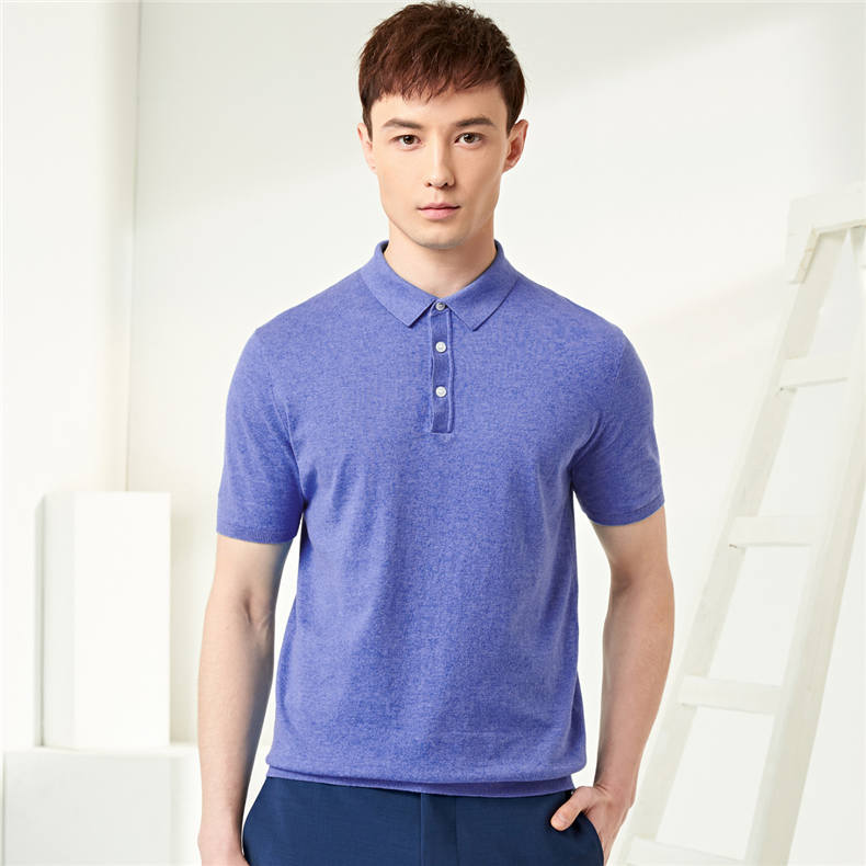 13Colors Summer Polos Men Sweater Quality Combed Cotton Knitted Short Male Tees Top Pullover Large Plus Size 4XL Muls Brand 01