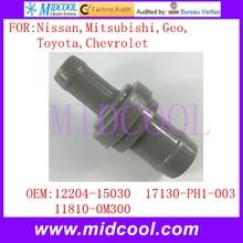 New Auto PCV Valve use OE NO. 12204-15030 , 17130-PH1-003 , 11810-0M300 for Nissan Mitsubishi Geo Toyota Chevrolet