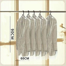 Home Dress Clothes Garment Suit Cover Bags PP Dust Proof Cloth Storage Protector
