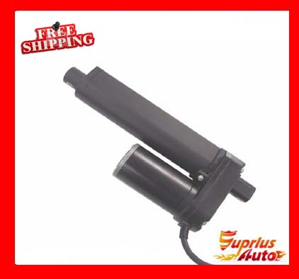 Most Competitive 50mm Travel Black, 12V DC Linear Motor Drive Load 3500N / 770LBS Black Linear Drive Free Shipping
