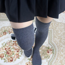 7ff8e44c9 Women long socks winter thigh high socks over knee 2019 NEW Autumn Spring  Harajuku Sweet Cute Kawaii Korean Campus style stripe