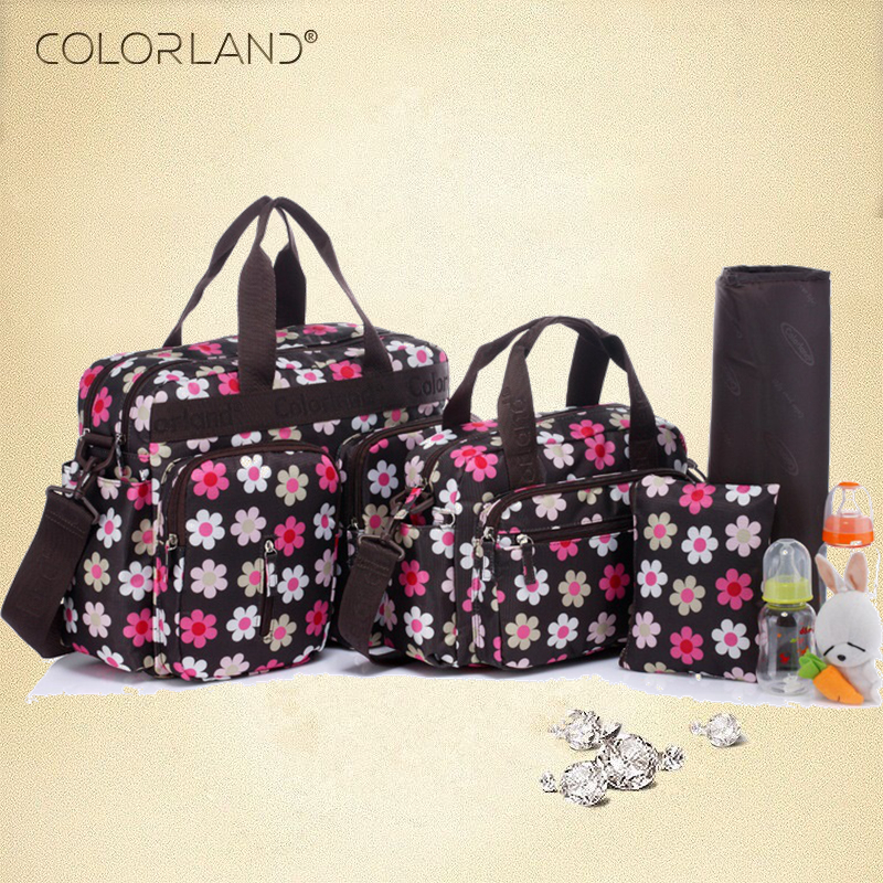 Colorland Diaper Bag Organizer Large Baby Bag For Mom Messenger Nappy Bags Baby Diaper Handbag Mother Handbag Maternity Bags цена и фото