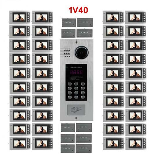Access Control Access Control Accessories Smart Xinsilu Building Home Security Video Intercom System Video Door Phone Decoder For Home Building Video Doorbell Apartments