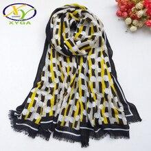 1PC New Cotton Women Long Scarf Soft 2019 Spring Thin Summer Ladys Polyester Shawls Fashion Female Autumn Wraps Muslim Kerchief