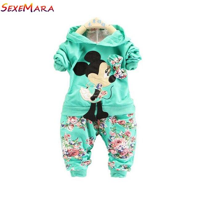 734cf063357f5 Bébé filles vêtements fille vêtements ensembles twinset 7-24 mois manteau + pantalon  pantalon 2