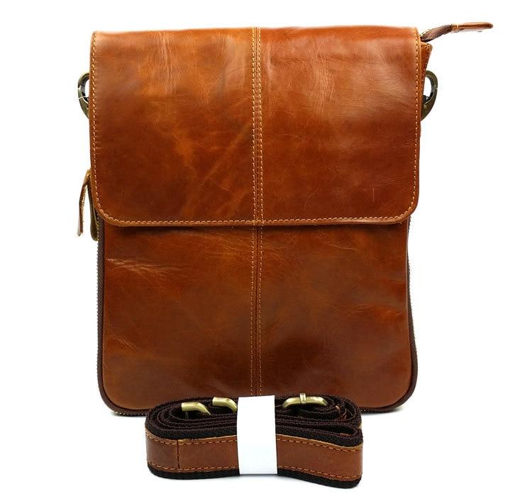 купить 2016 New 100% Guarantee Genuine Leather Men Bag High Quality Natural Cowskin Men Messenger Bags Vintage Shoulder Crossbody Bag по цене 2258.83 рублей
