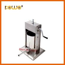 Профессиональная из нержавеющей стали, вертикальная тип 12L емкость руководство мясо Писака Колбаса чайник колбаса машина для продажи