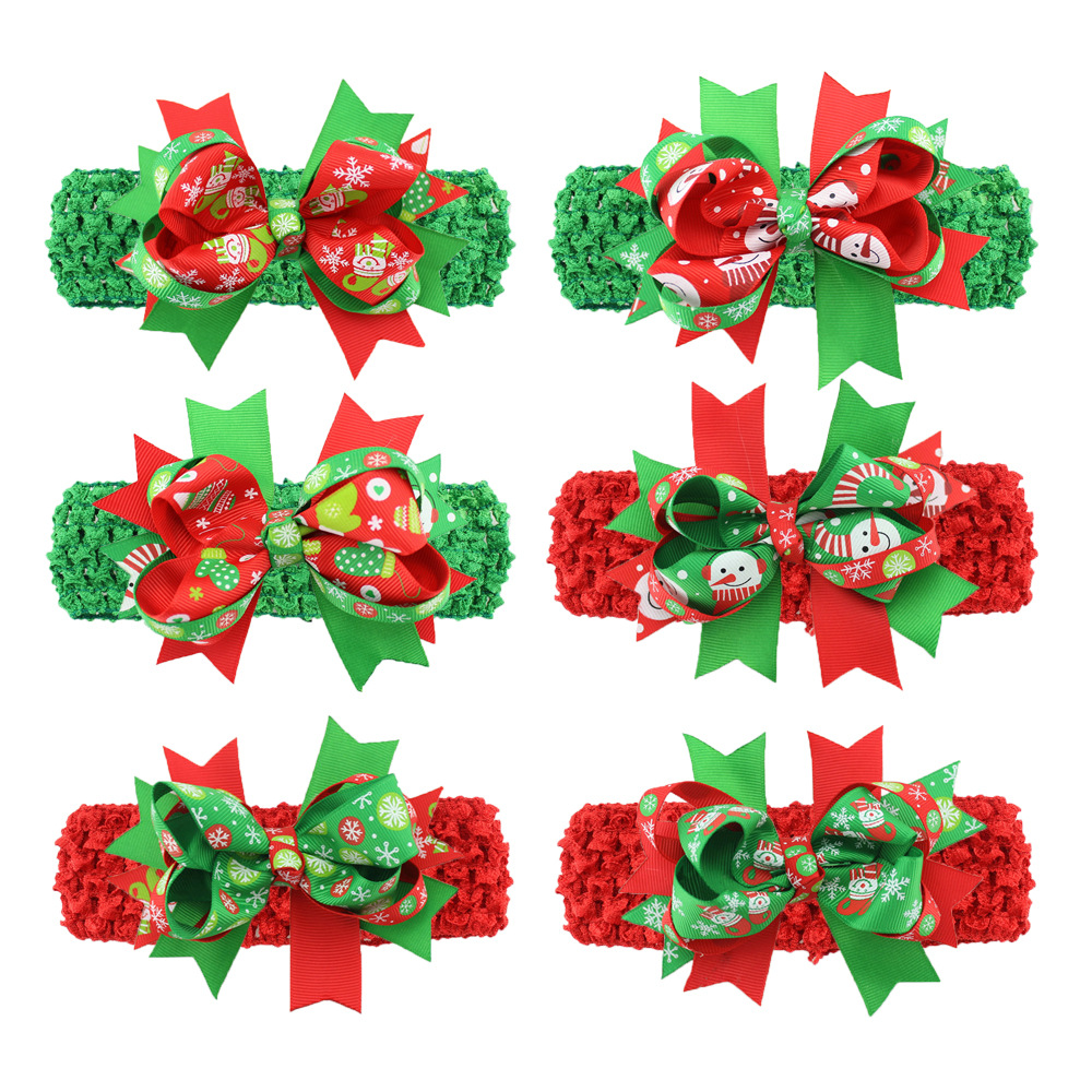 New baby christmas ornament - The New Baby Christmas Ornaments Europe Korea Wire Fishtail Hair Band Foreign Hot Baby Jewelry Wholesale