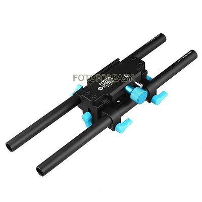 DSLR üçün FOTGA DP3000 15mm Rail Rod Advanced QR Baseplate - Kamera və foto - Fotoqrafiya 4