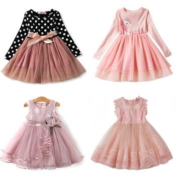 Baby Long Sleeves Dress for Girl Children New Festival Carnival Costume Kids Party Dresses for Girl 2 3 4 5 6 Toddler Clothes