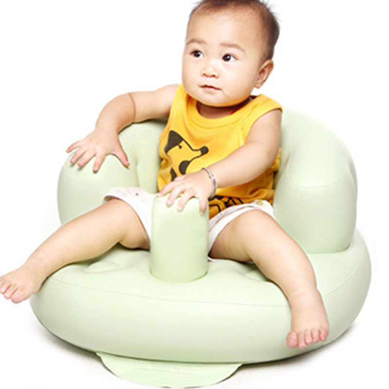 Built in Pump Portable Baby Chair Inflatable Sofa Cute PVC Cartoon ...