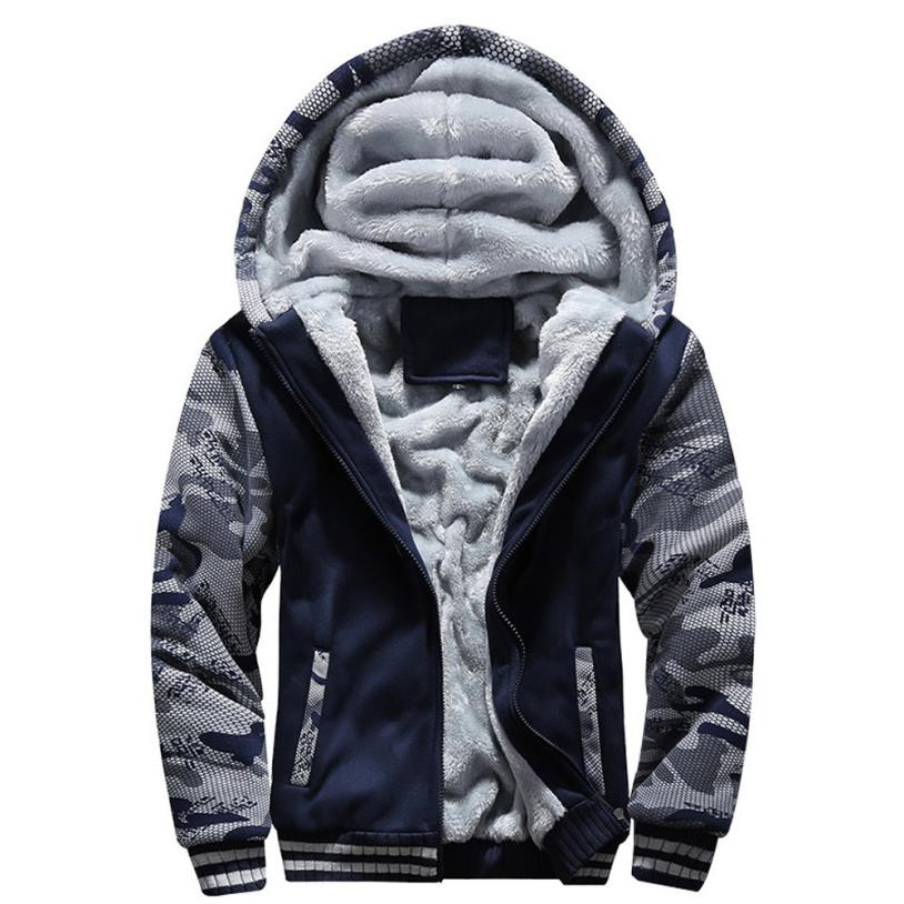 The North Of <font><b>Winter</b></font> Male Moletom Warm Thick Velvet Solid Sweatshirt Men Tracksuit Soft Shell Men Hoodies And Sweatshirts <font><b>Face</b></font>