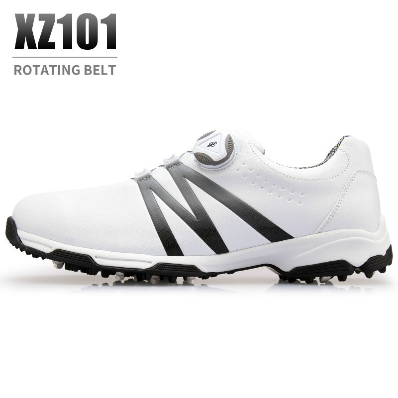 New PGM golf shoes men s waterproof Breathable antiskid shoes shoelaces sports shoes spiked shoes 2018