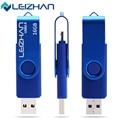 LEIZHAN USB Flash Drive Smartphone USB Flash Drive OTG Pendrive 4GB 8GB 16GB 32GB USB 2.0 Memory Stick Micro Smart Mobile Disk