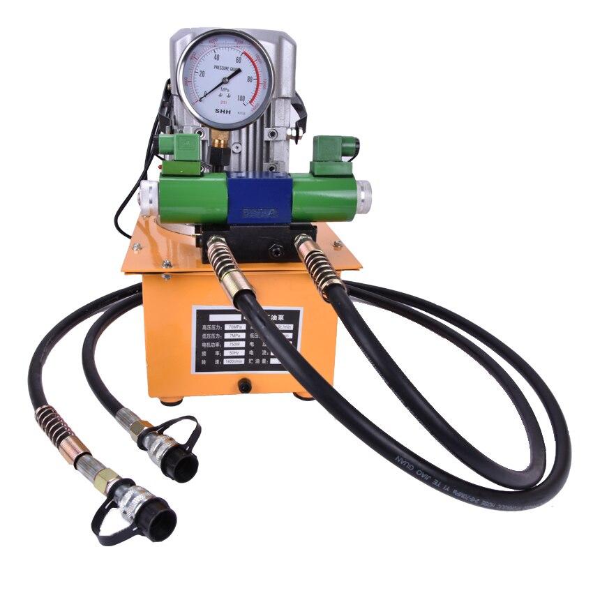 1ks vysokotlaké dvojčinné elektrické hydraulické čerpadlo - Elektrické nářadí - Fotografie 2