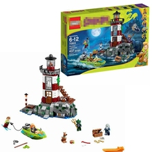 Mini Map Blocks Fit 75903 Scooby Doo10431 Haunted Lighthouse Set Animal Dog Toys Children's Gifts