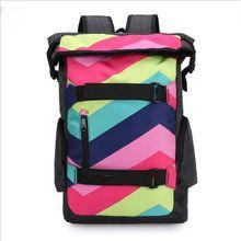 Men Women Backpacks Brand Design Unisex Men's Travel Bag Fashion Man Backpack Polyester Bag Print School Backpacks