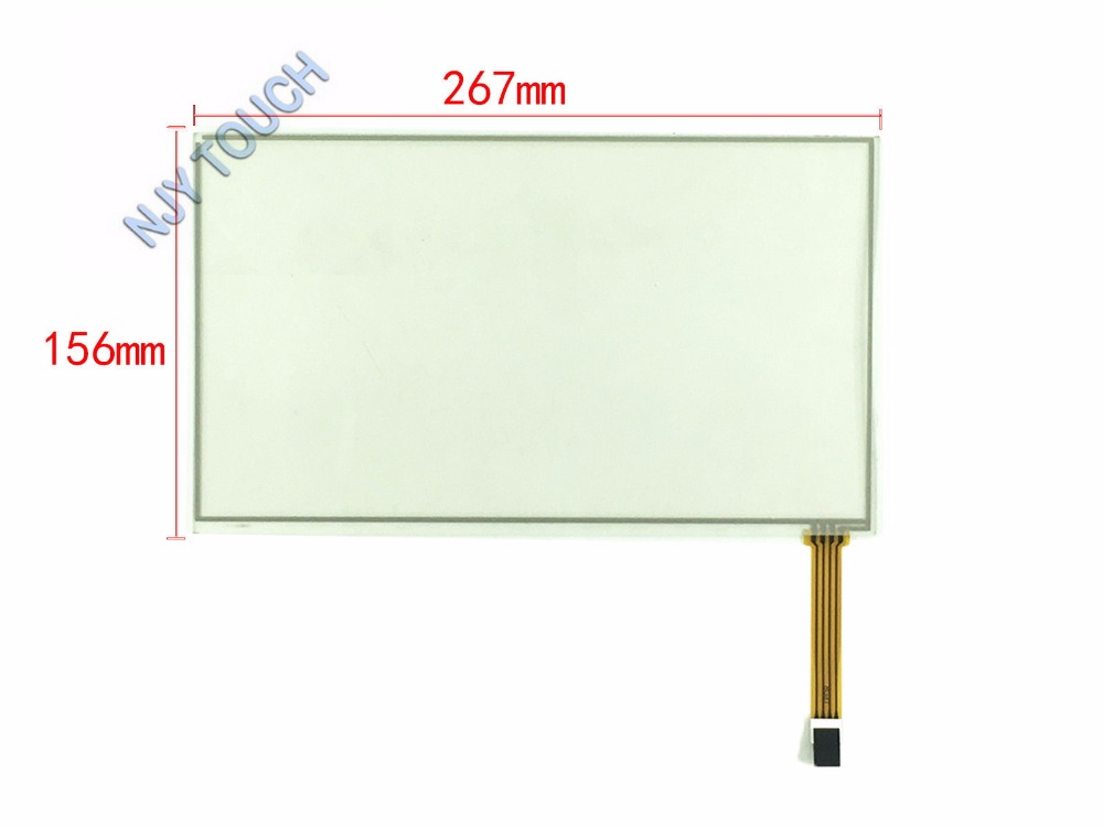 11.6 Inch 4Wire Resistive Touch Screen Panel Digitizer Glass 267x156mm For W7 XP11.6 Inch 4Wire Resistive Touch Screen Panel Digitizer Glass 267x156mm For W7 XP