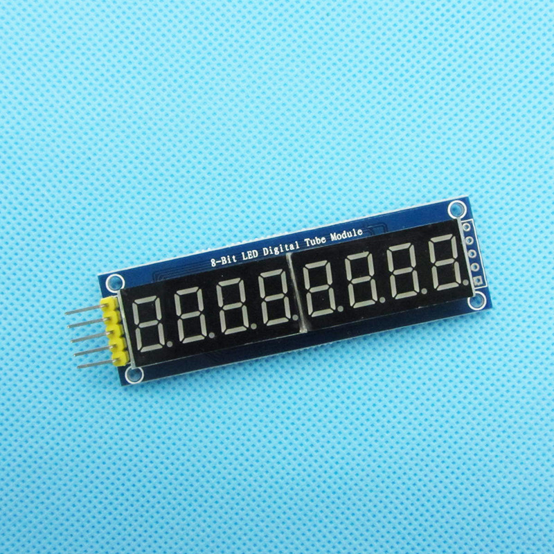 8 Bits 8Bit  Digital Tube Red LED Display Module Four Serial For Arduino 595 Driver