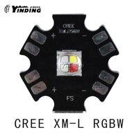 1pcs Cree Xlamp XM L RGBW 4000K T6 U2 U3 10W Colors High Power LED Emitter