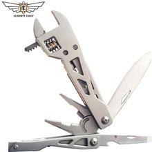 """הקב""""ה נשר plier תכליתי כיס סכין נייד פלייר יד כלי מתקפל כלי קמפינג כלים חיצוני הישרדות ציוד"""