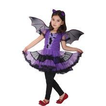 Vashejiang удивительные Животные костюм летучей мыши для девочек