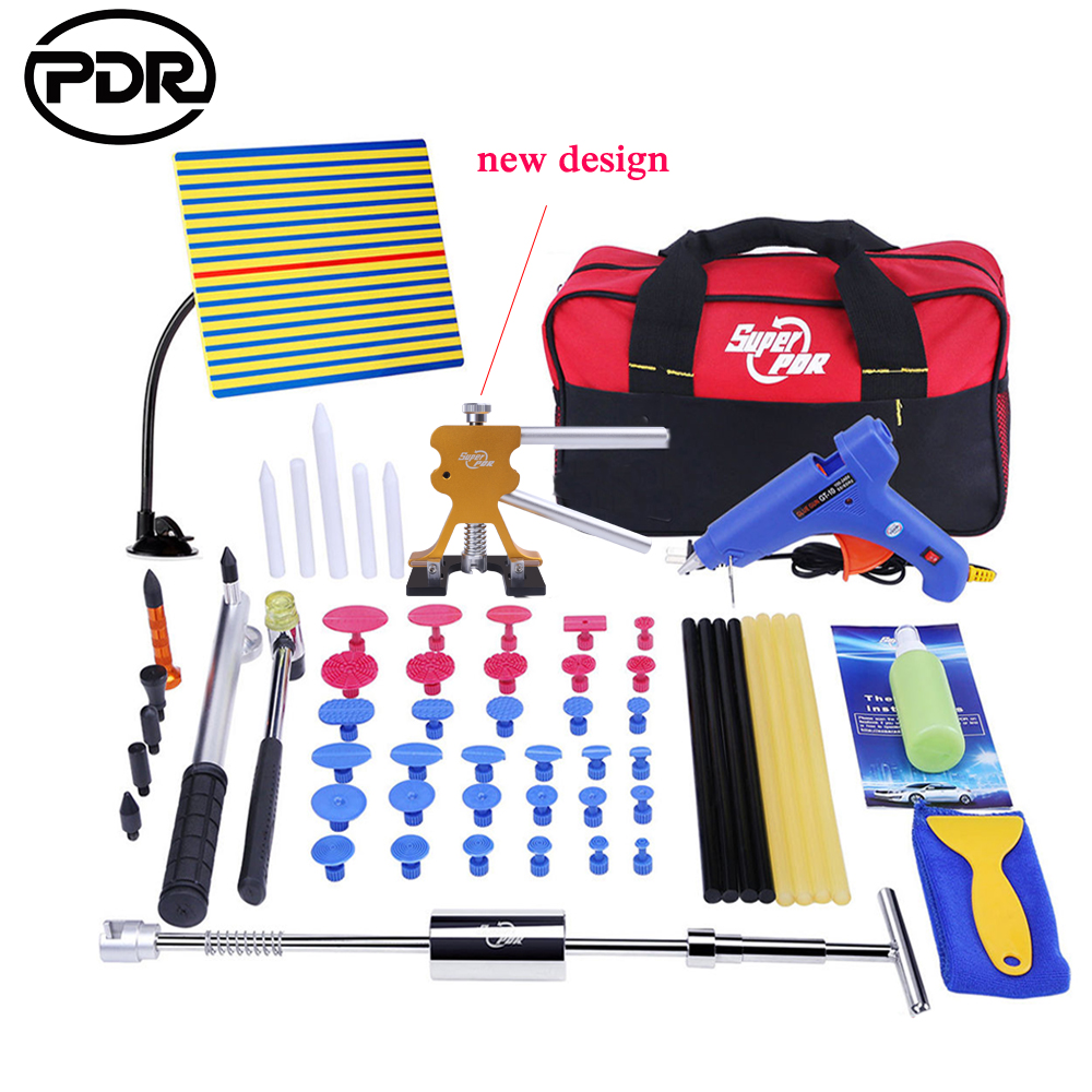 PDR Hand Tool Sets Auto Dent Removal Paintless Car Dent Removal Auto Hail Repair Hail Damage Car Hand Tools Fast Shipping ratchet wrench set medium fly 3 8 short sets tube single row 12 pieces sets auto repair sets equipment hand tools tool
