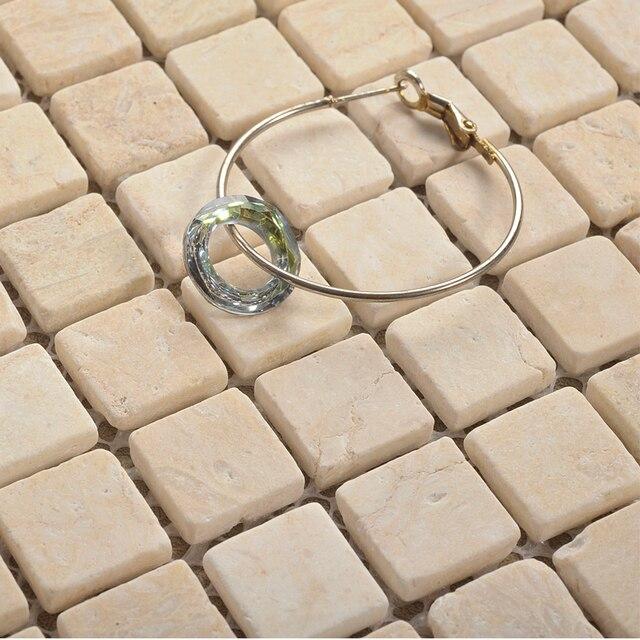 US $215.26 6% OFF|Naturstein mosaik fliesen HMGM2024 für küche backsplash  fliesen badezimmer dusche flur wand mosaik kostenloser versand in ...